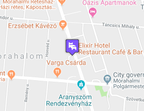 Elixír Medical Wellness Hotel a térképen